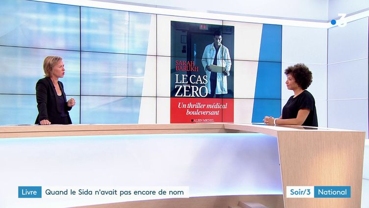 Sarah Barukh et son livre (France 3)