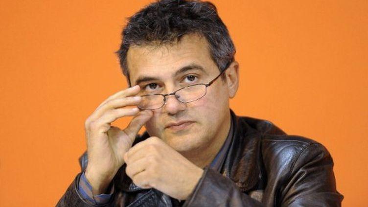 Le Dr Patrick Pelloux, président de l'Association des médecins urgentistes hospitaliers de France, fin 2008 à Rennes. (AFP/PASCAL ALLEE)