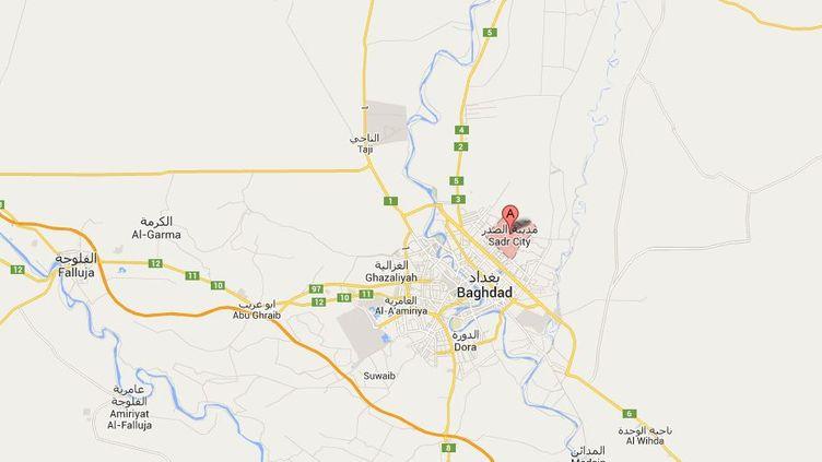 L' attentat a tué au moins 56 personnes samedi 21 septembre 2013 à Bagdad (Irak).