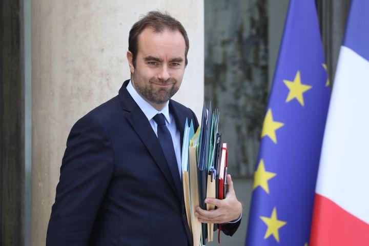 Sébastien Lecornu, ministre chargé des Collectivités territoriales à l'Elysée, le 2 octobre 2019. (LUDOVIC MARIN / AFP)