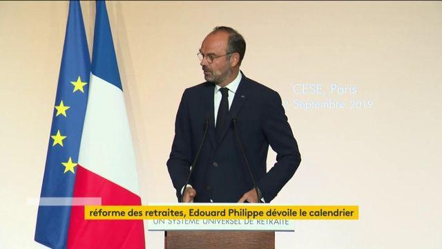 L'intégralité du discours d'Edouard Philippe sur la réforme des retraites