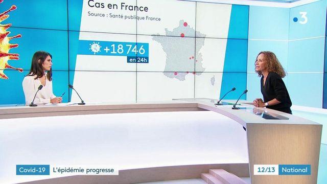 Covid-19 : l'épidémie progresse en France