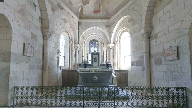 L'église duvillage de Gargilesse-Dampierre (Indre). (GOOGLE STREET VIEW)
