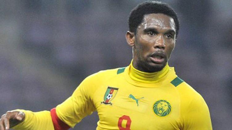 L'attaquant et capitaine du Cameroun, Samuel Eto'o