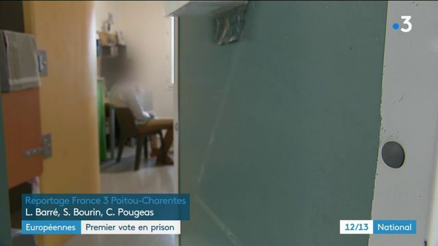Européennes : premier vote en prison pour les détenus de Vivonne