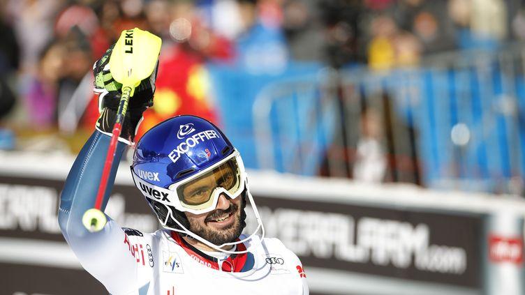 Jean-Baptiste Grange 10e du slalom de Chamonix, le 8 février 2020 (BRUNO FOUILLAT / BRUNO FOUILLAT)
