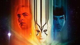 """""""Star Trek sans limites"""" : détail de la nouvelle affiche du film (mai 2016)"""