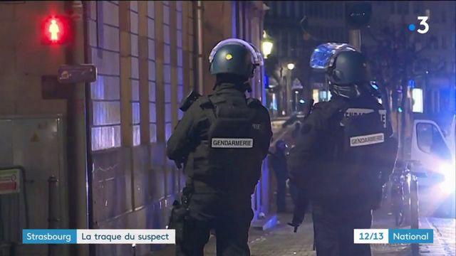 Strasbourg : la traque du suspect