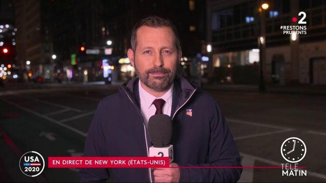 Présidentielle américaine: des chaînes de télévision coupent l'allocution de Trump pour désinformation