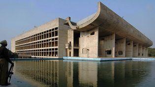 Le Capitole de Chandigarh a été ajouté dans le dossier de candidature à l'Unesco  (NARINDER NANU / AFP)