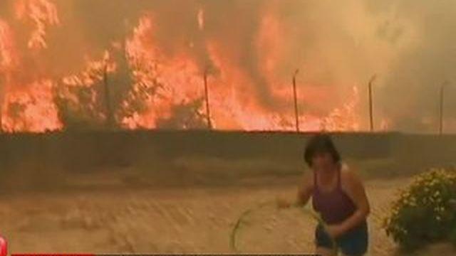 Le Portugal frappé par de violents incendies