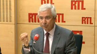 Le président de l'Assemblée nationale, Claude Bartolone, invité de RTL, le 2 septembre 2013, à Paris. (RTL / FRANCETV INFO)