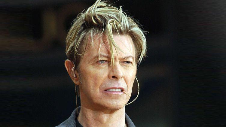 David Bowie à New York en septembre 2003.  (Catuffe / SIPA)
