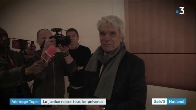 Bernard Tapie et le PDG d'Orange relaxés au pénal