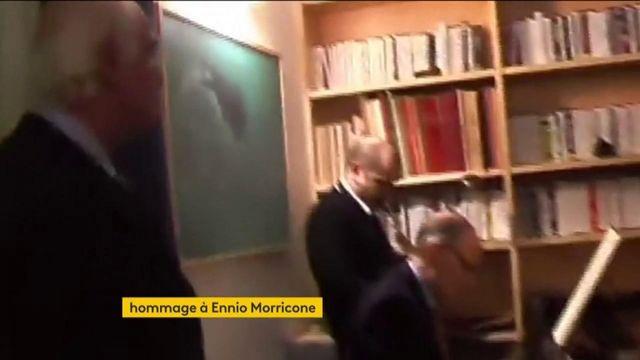 Musique : hommage à Morricone