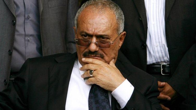 Le mandat du président yéménite Ali Abdallah Saleh, au pouvoir depuis 32 ans, court jusqu'en 2013. (AFP PHOTO / MOHAMMED HUWAIS)