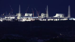 La centrale nucléaire de Fukushima Daiichi (Japon), le 10 mars 2018. (JIJI PRESS / AFP)