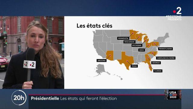 Présidentielle américaine : les États pivots qui feront l'élection