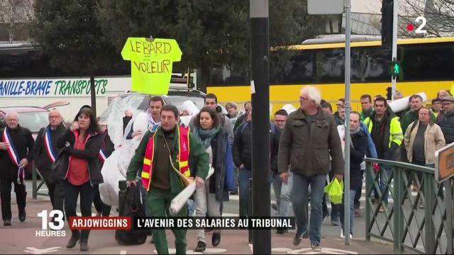 Arjowiggins : les salariés attendent la décision du tribunal