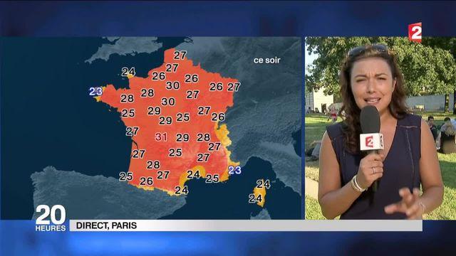 Météo : alerte aux fortes chaleurs en France