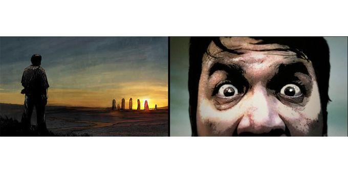 "Extrait de ""N"" de Stephen King, Marc Guggenheim et Alek Maleev  (Glénat Comics / Albin Michel)"