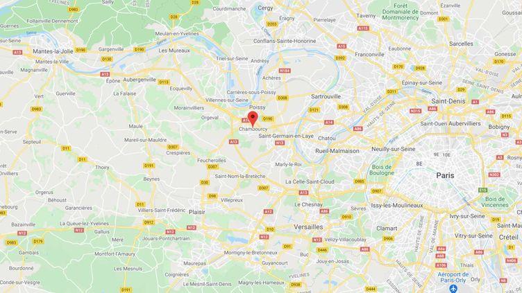 Chambourcy, dans les Yvelines. (GOOGLE MAPS)