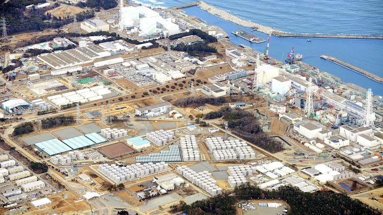 Le site de la centrale nucléaire endommagée de Fukushima (Japon), le 25 février 2013. (MASNARI GENKO / YOMIURI / AFP)