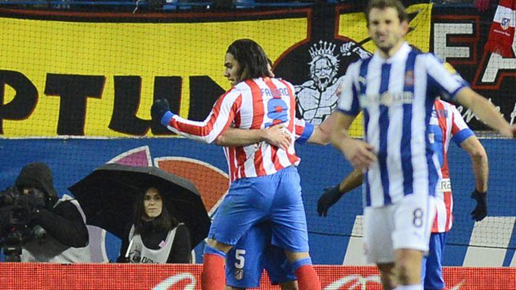 Falcao a inscrit son 21e but de la saison