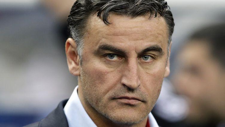 Christophe Galtier, l'entraîneur de l'AS Saint-Etienne