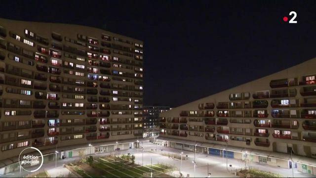 Coronavirus : les Français applaudissent aux balcons