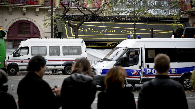 Le Bataclan à Paris le 16 novembre 2015. (MAXPPP)