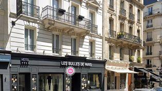 L'hôtel Les Bulles de Paris, dans le quartier Latin. (GOOGLE MAPS)