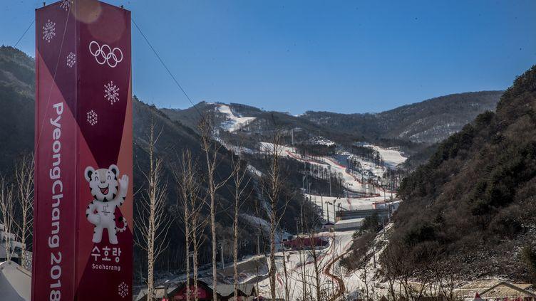 Le complexe de ski alpin (MICHAEL KAPPELER / DPA)