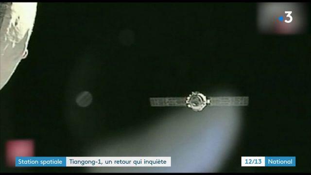 Station spatiale : Tiangong-1, un retour qui inquiète