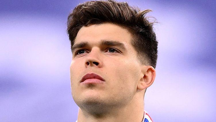 Le demi d'ouverture de l'équipe de France, Matthieu Jalibert, le 20 mars 2021