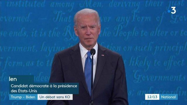 Élection présidentielle américaine : débat presque courtois entre Joe Biden et Donald Trump
