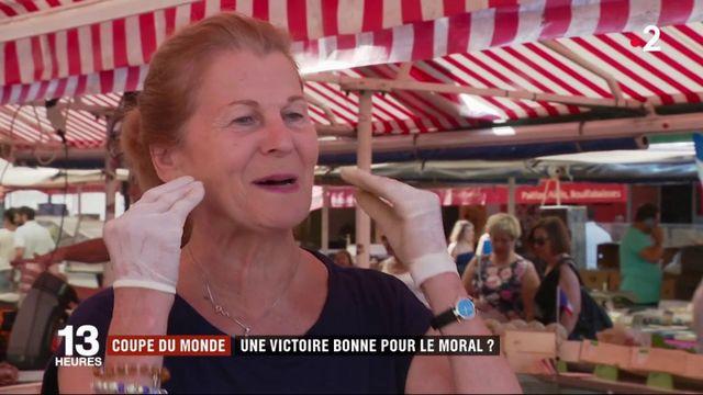 Coupe du monde : une victoire bonne pour le moral des Français ?