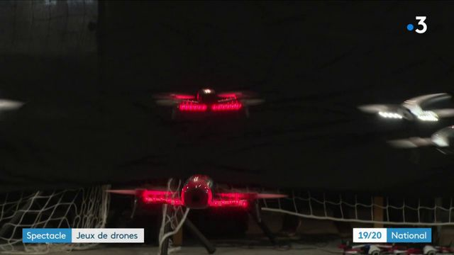 Quand les drones font le spectacle