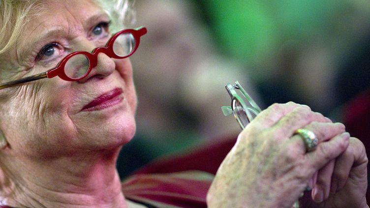 La candidate d'Europe Ecologie-Les Verts (EELV) pour la présidentielle de 2012, Eva Joly, le 12 novembre 2011 lors du congrès du parti vert européen à Paris. (JOEL SAGET / AFP)
