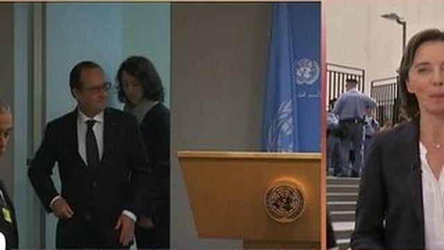 """Syrie : Hollande veut montrer que la France """"peut agir"""""""