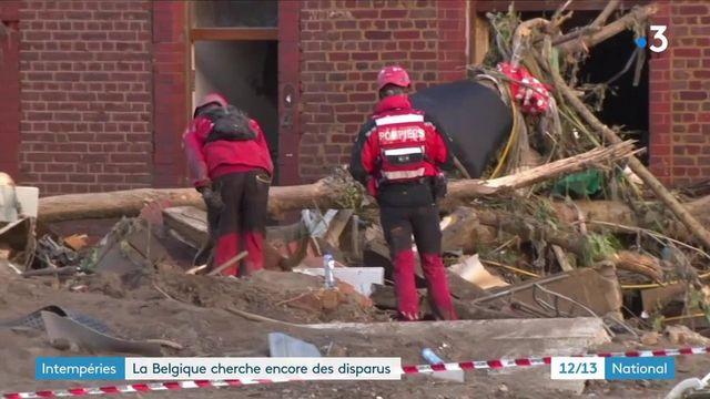 Belgique : les secours recherchent d'éventuels survivants après les récentes inondations
