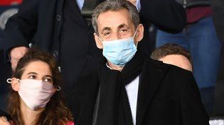 L'ancien président de la République, Nicolas Sarkozy, le 2 octobre 2020. (FRANCK FIFE / AFP)