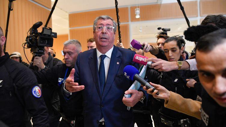 Patrick Blaknay le 13 mai au tribunal de grande instance de Paris. (JULIEN MATTIA / LE PICTORIUM / MAXPPP)