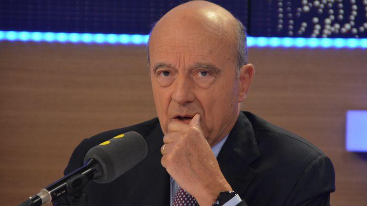 Alain Juppé,candidat à la primaire de la droite et du centre, maire LR de Bordeaux  (Jean-Christophe Bourdillat / Radio France)