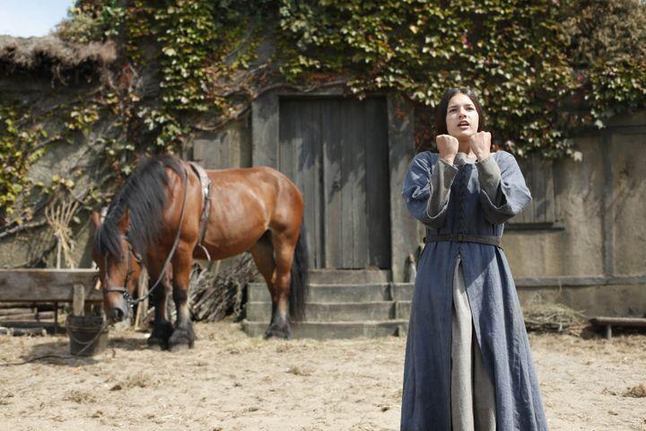 Jeanne Voisin est Jeanne d'Arc adolescente  (Copyright R.Arpajou / TAOS Films - ARTE France)