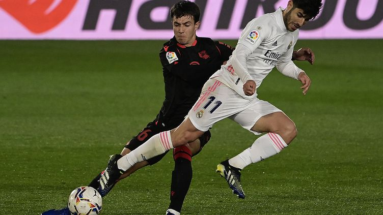 Le Real Madrid et la Real Sociedad se quittent sur un match nul (JAVIER SORIANO / AFP)