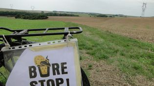 Les opposants au projet d'enfouissement des déchets nucléaires à Bure (Meuse) ont prévu de se rassembler les 3 et 4 mars sur place. (MAXPPP)