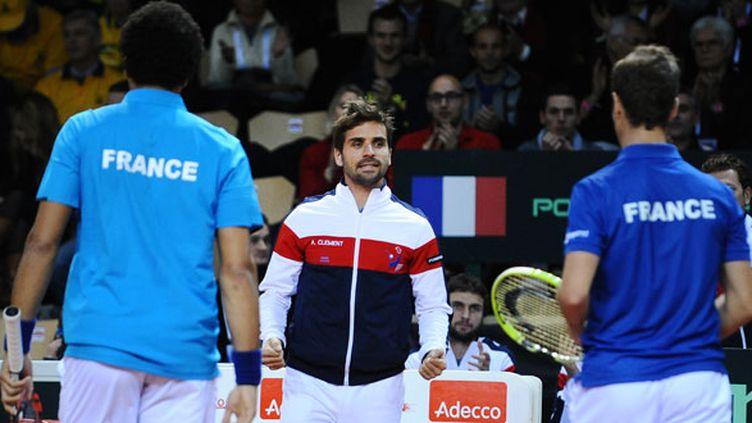 Le capitaine de l'équipe de France Arnaud Clément sur la sellette