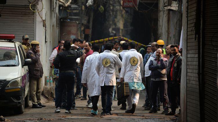 Outre le bilan de 43 morts, au moins 16 personnes ont été hospitalisées, dimanche 8 décembre. (SAJJAD  HUSSAIN / AFP)