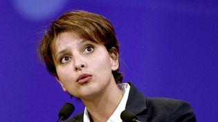 La ministre des Droits des femmes Najat Vallaud-Belkacem le 17 juin 2014 à Paris. (STEPHANE DE SAKUTIN / AFP)